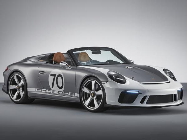 Porsche 911 Speedster. Фото Porsche