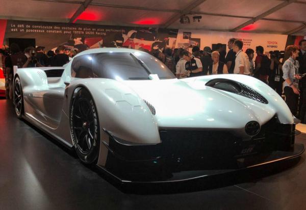 GR Super Sport Concept. Фото Toyota