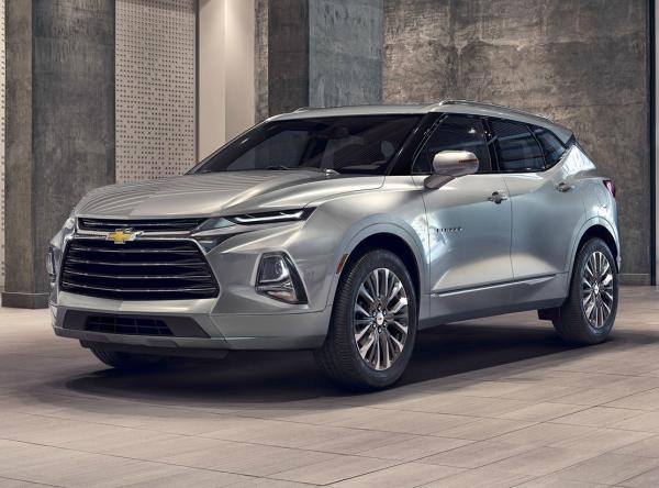 Chevrolet Blazer. Фото Chevrolet