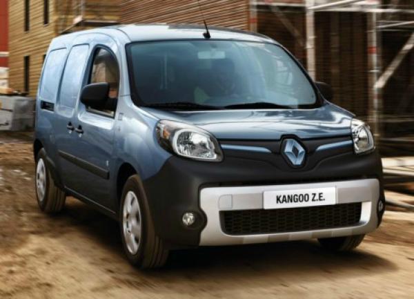 Renault Kangoo Z.E.  Фото Renault