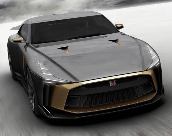 Nissan GT-R от  Italdesign. Фото  Italdesign