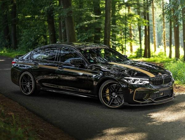 BMW M5 Manhart. Фото Manhart