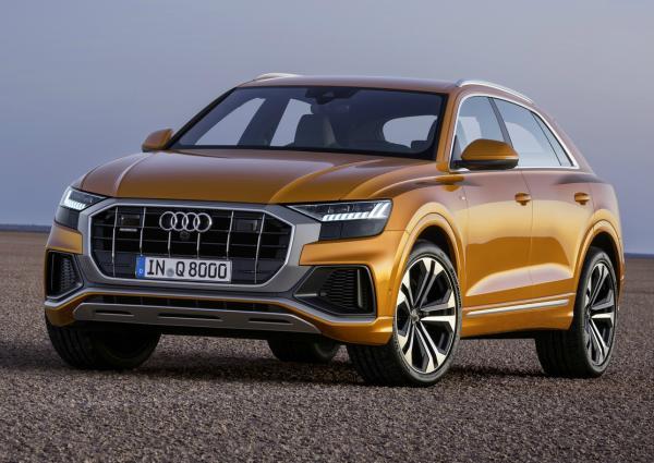 Audi Q8. Фото Audi