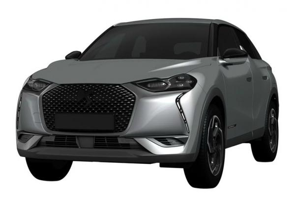 DS 3 Crossback. Фото Carscoops