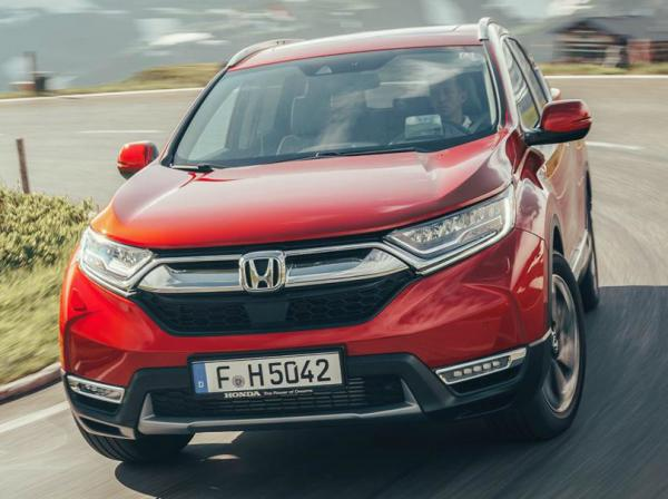 Honda CR-V Europe. Фото Honda