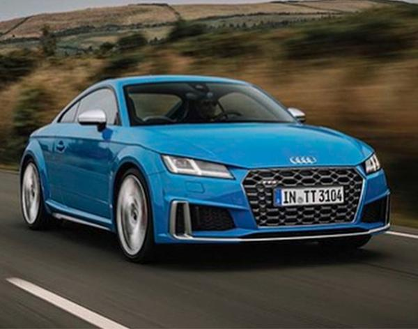 Audi TTS 2019. Фото из Instagram