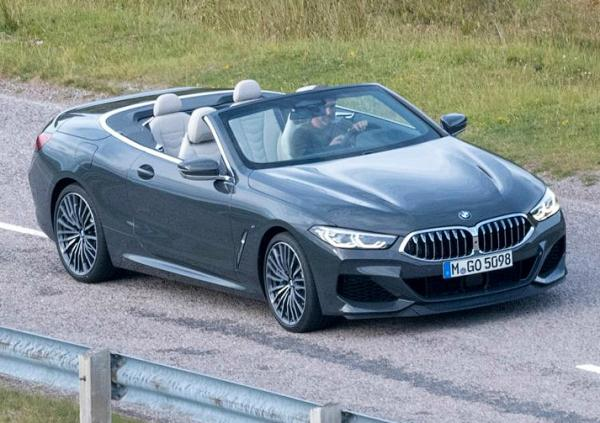 BMW  8-Series Cabrio. Фото Auto Express