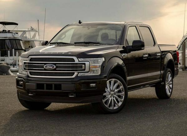 Ford F-150 Limited. Фото Ford