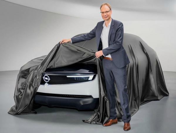 Тизер Opel