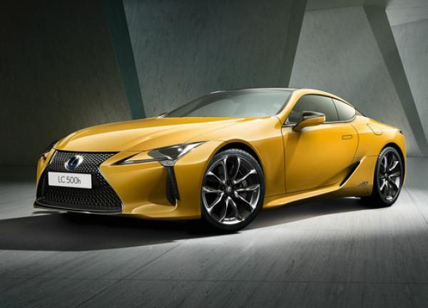 Lexus LC 500 Yellow Edition. Фото Lexus