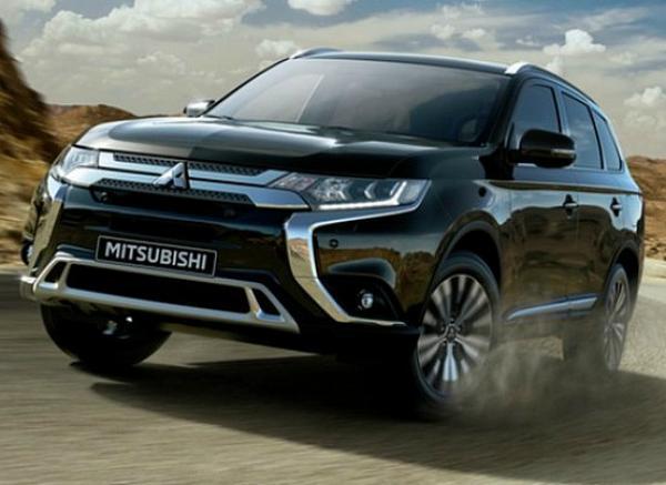 Mitsubishi Outlander. Фото Mitsubishi