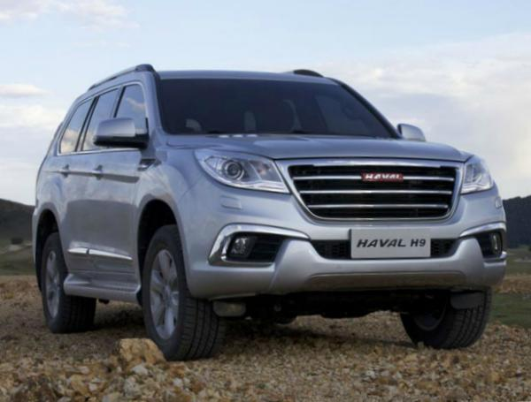 Haval H9. Фото Great Wall