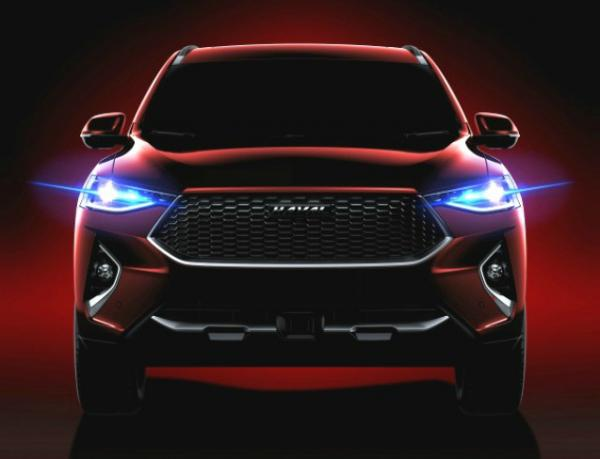 Haval F7. Фото Haval