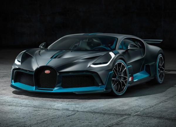 Bugatti Divo. Фото Bugatti