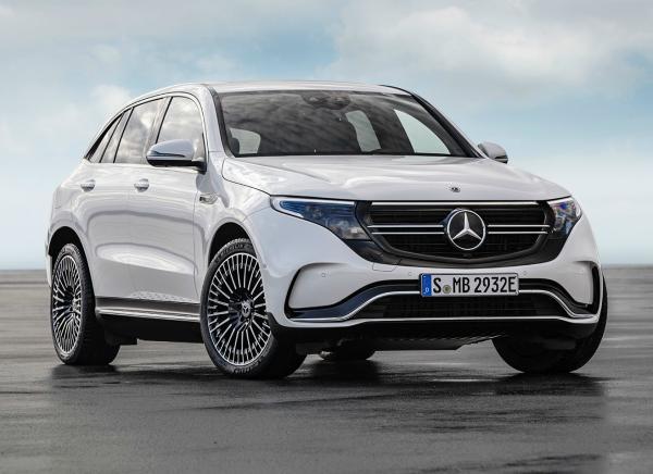 Mercedes-Benz EQC. Фото Mercedes-Benz