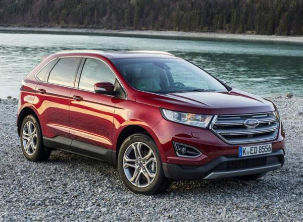Ford Edge. Фото Ford
