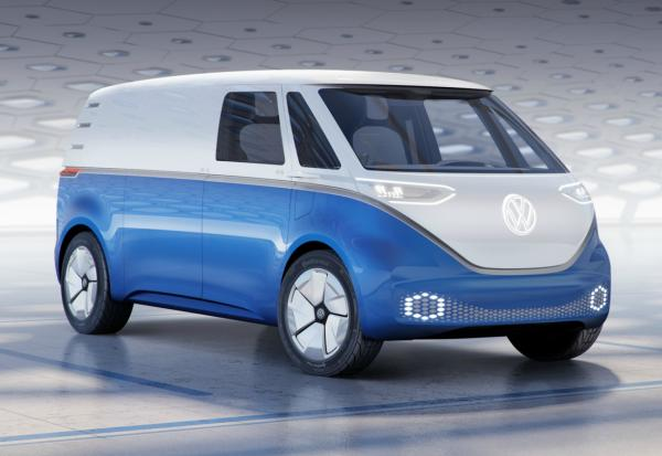 VW ID Buzz. Фото VW