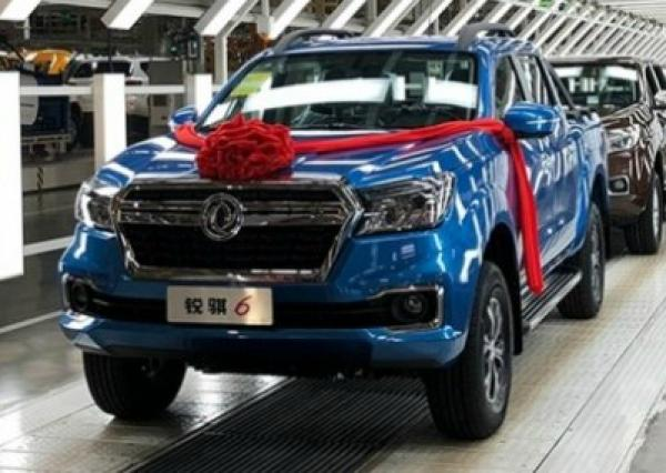 Dongfeng Rich 6. Фото Dongfeng