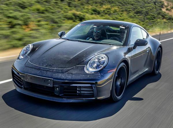 Porsche  911. Фото Autocar