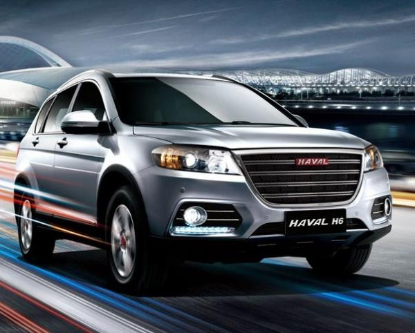 Haval H6. Фото Haval