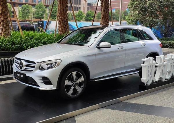 Mercedes-Benz GLC. Фото Mercedes-Benz