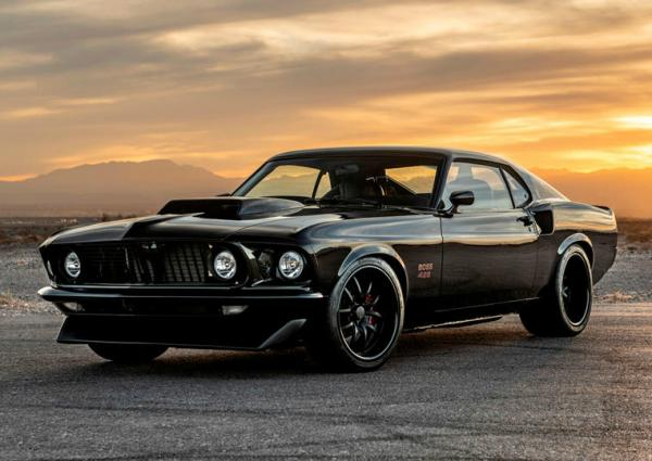 Ford Mustang Boss 429. Фото Classic Recreations