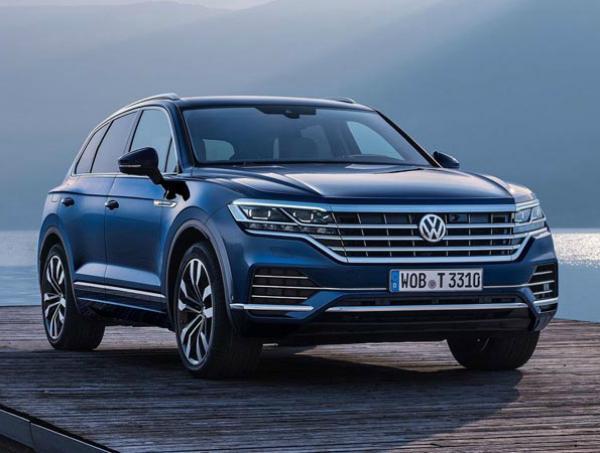 Volkswagen Touareg 2018. Фото Volkswagen