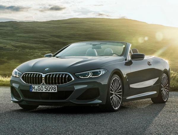 BMW 8-Series Convertible. Фото BMW