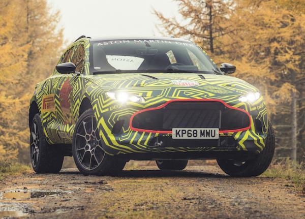 Aston Martin DBX. Фото Aston Martin