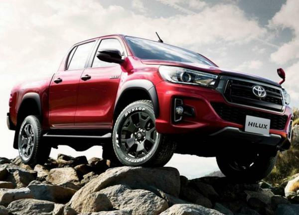 Toyota Hilux Z Black Rally Edition. Фото Toyota