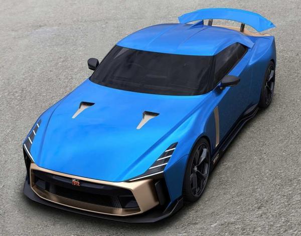 Nissan GT-R50 от  Italdesign. Фото  Italdesign