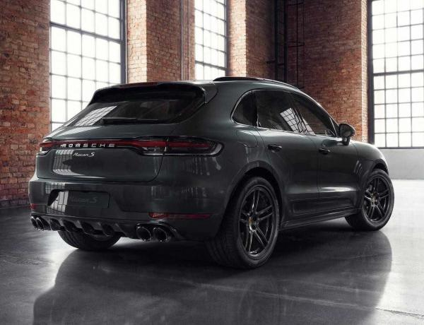 Porsche Macan от Porsche Exclusive Manufaktur. Фото Porsche