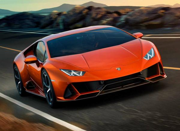 Lamborghini Huracan Evo. Фото Lamborghini
