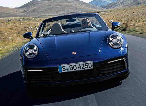 Porsche 911 Cabrio. Фото Porsche