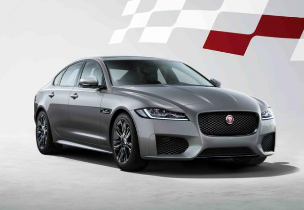 Jaguar XF Chequered Flag. Фото Jaguar