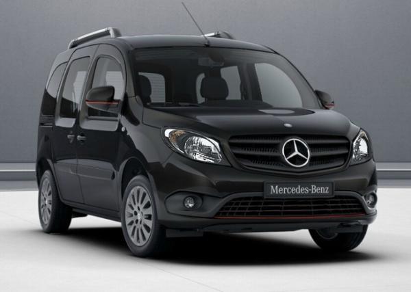 Mercedes Citan. Фото Mercedes