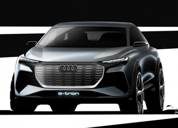 Audi Q4 e-tron. Фото Audi