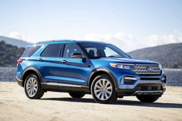 Ford Explorer 2019. Фото Ford