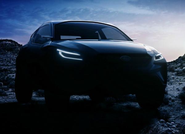 Subaru Viziv Adrenaline.  Фото Subaru