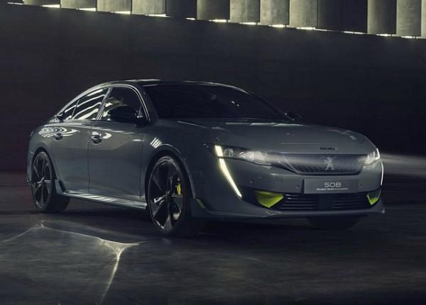 Peugeot Concept 508 Sport Engineered. Фото Peugeot