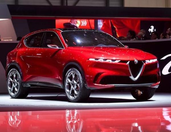 Alfa Romeo Tonale. Фото Alfa Romeo