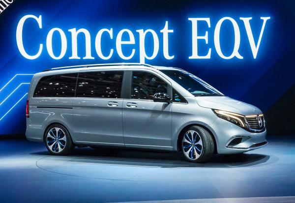 Mercedes Concept EQV. Фото Mercedes