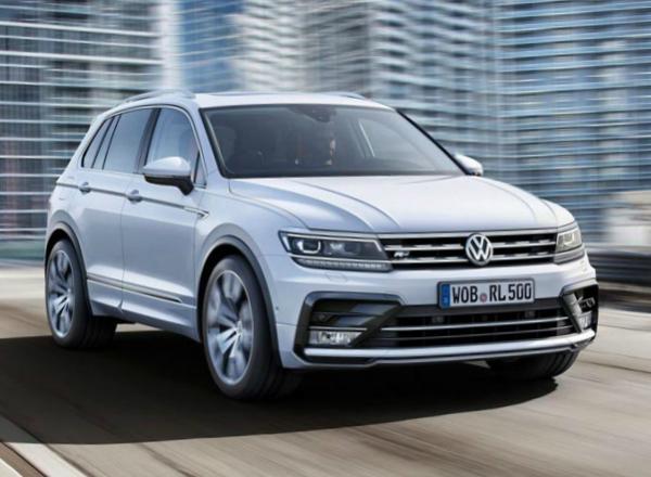 Volkswagen Tiguan. Фото VW
