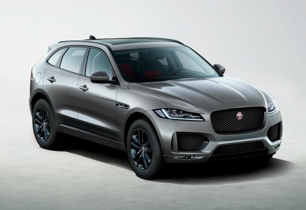 Jaguar F-Pace Chequered Flag. Фото Jaguar
