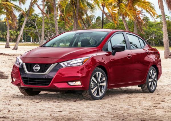 Nissan Versa. Фото Nissan