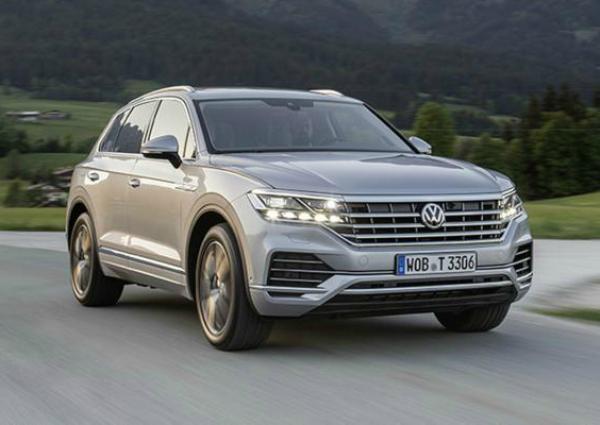 VW Touareg Exclusive. Фото VW