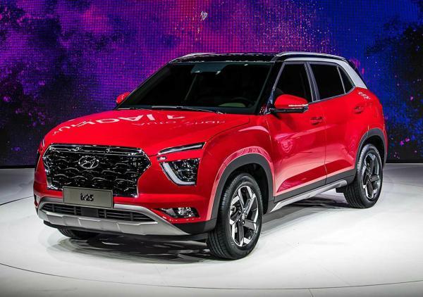 Hyundai ix25. Фото Hyundai