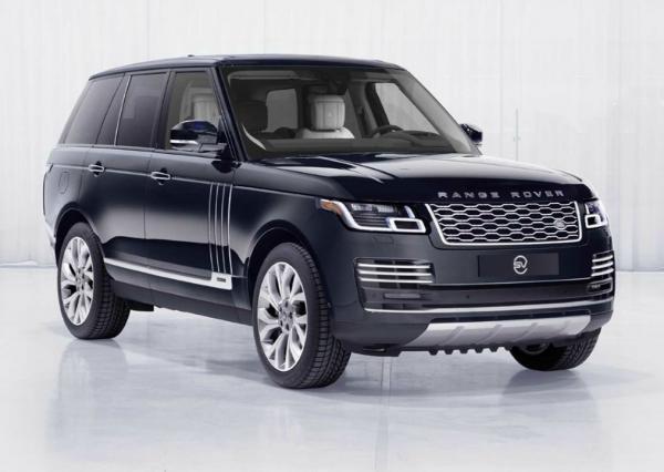 Range Rover Astronaut Edition. Фото Land Rover