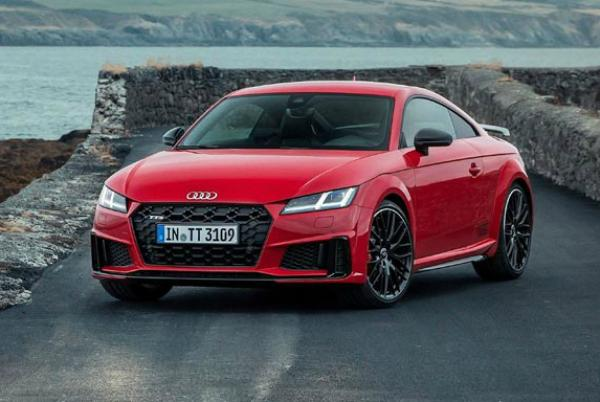 Audi TT. Фото Audi
