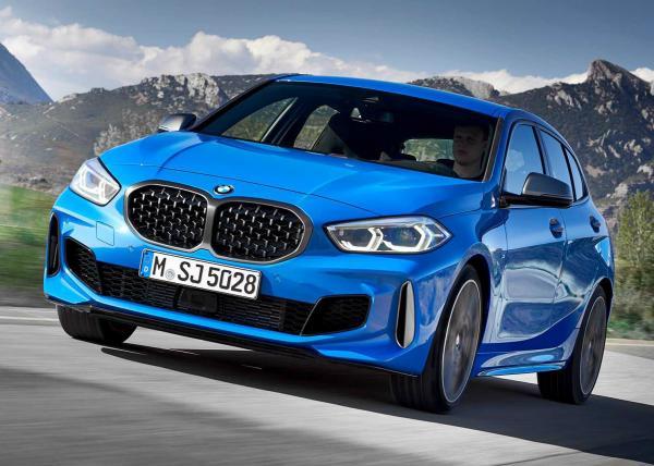 BMW 1-Series. Фото BMW